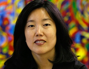 Michelle Rhee is leaning in.