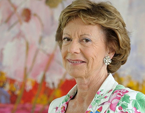Neelie Kroes is leaning in.