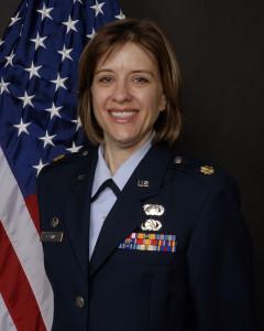 Lt. Col. Erika Cashin