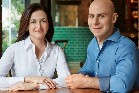 Sheryl Sandberg and Adam Grant