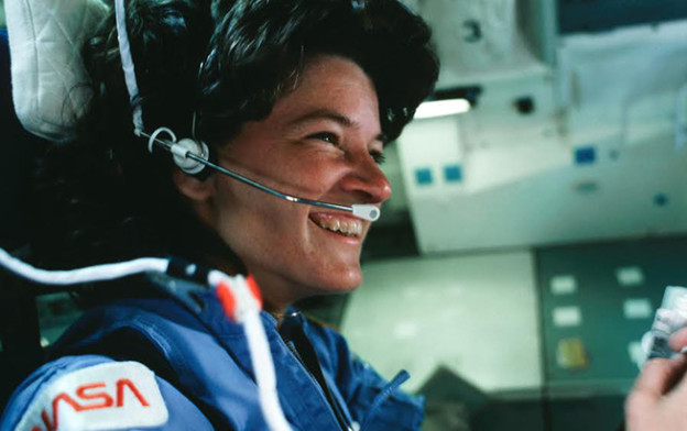 Sally Ride Leans In - Lean In